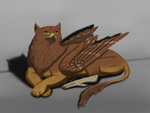 Gryphon by SaydousArtCorner