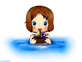 APH - Bath Time for Liet by HayaMika