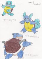 Squirtle Family by suzuka11