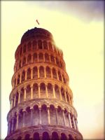 The Leaning Tower by FlukeMann