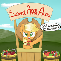Apple stand by NotEnoughApples