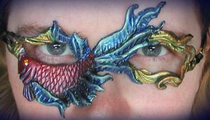 Betta Fish Mask by Namingway