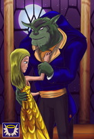 Beauty and the Beast by BlueSerenity