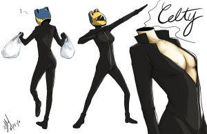 DRRR - Celty by pianopear12