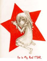 He Is My RED STAR by karinafita