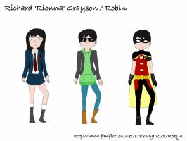 [FF Robyn] Concept Art - Rionna/Robin by RicePoison