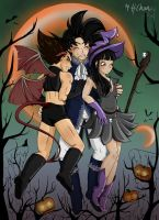 Happy Halloween -Threesome by xH-Chanx