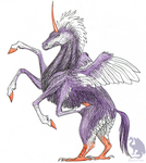 Hippogriff by Flying-With-Dragons