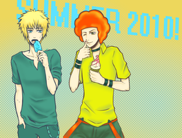 PKMN: Summer Boys by la-coir