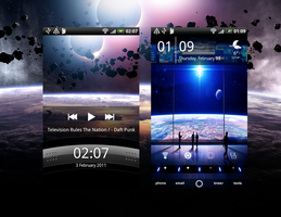 HTC Desire - Eclipse lockscree by sn00pie