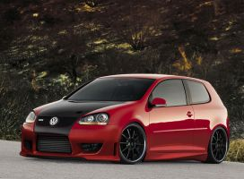 VW Golf Gti Carbon by AladineSalame