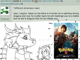 Ask Ignis and Megara-How to Train Your Pokemon? by ShardianofWhiteFire