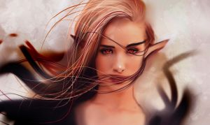 Blood Elf by ryky