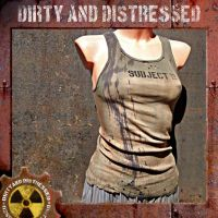 Tan and Tattered TankTop by DirtyandDistressed