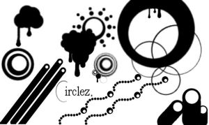 circlez - Gimp Brushes by r4rwr-its-chris