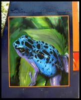 BLUE_FROG by szc