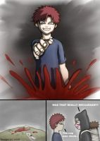 Gaara thingy for Sil3ntXspiRit by serpico915