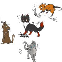 Adoptable cats 2: Closed by Valerie-Sandheart