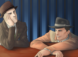 At The Bar -L.A. Noire- by brucestache