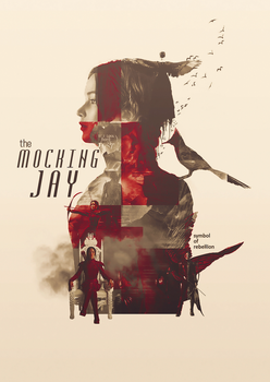 poster. Mockingjay by H1314106