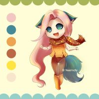 Nesmaty Adoptes: 3 (SOLD) by Nesmaty