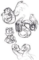 Hissi Sketches by anniemae04