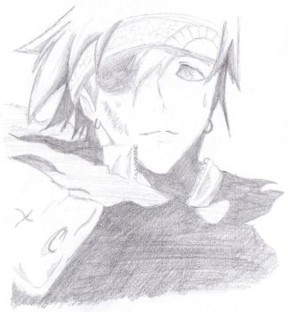 :Sketch: D.Gray-Man - Lavi by Red-Parrot