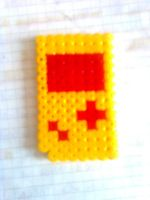 GAME BOY - HAMA BEAD by RavenLSD