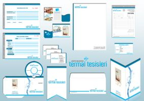 corporate identity thermal by OnRckn
