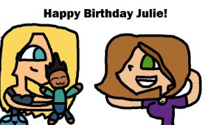 Happy Birthday Julie! by TeamNoah