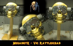 Vic Rattlehead *Finished* by rubenick