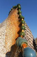 Barcelona, Casa Batllo roof 2 by elodie50a