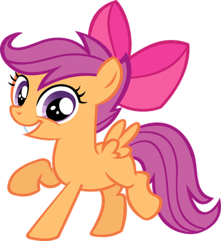 Dancing Scootaloo by IronM17