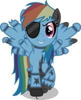 Withered Dash the Pirate by SteampunkSalutation