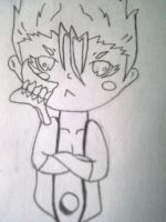 Chibi Grimmjow Angery by grimmjowlove