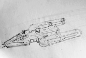 Y Wing Fighter by philippeL