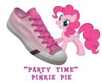 Pinkie Pie shoes by DoctorRedBird