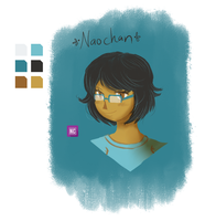 Naochan Colour palette challenge by solcastle