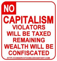 No Capitalism by Conservatoons