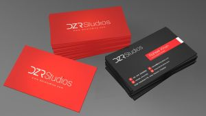 DZR Studios - Card Design by dronzer92