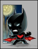 Lil Batman Beyond by StevenCrowe