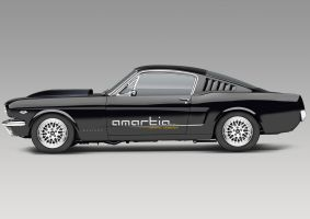 Ford Mustang by Amartia