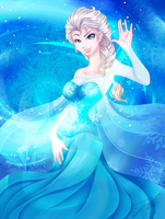 The Snow Queen by Tatara94