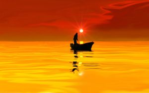 sun of a boat by DicklessHunter