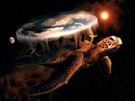 A'Tuin and the Disc World by theyoungtook