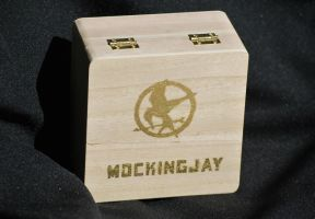 Box with mockingjay by Fezti