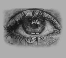 Crying Eye by SITH-Katie-UKSP