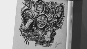 Dota2 Sketch - Meepo by azuremizt