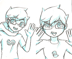 John Egbert by GreenMangos