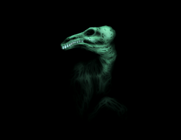 Zombie Dragon Ghost by dendril